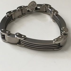Amazing Stainless Steel Bracelet approx 8 inches